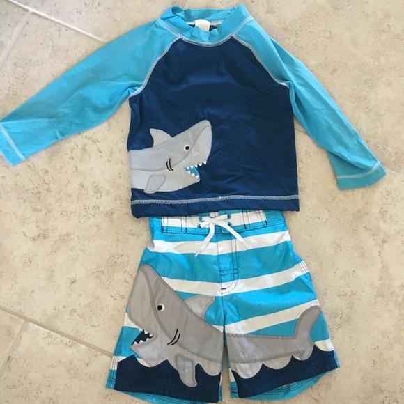 00810b07d2 Gymboree Swim | Baby Boy Size 1824 Month Suit Euc | Poshmark